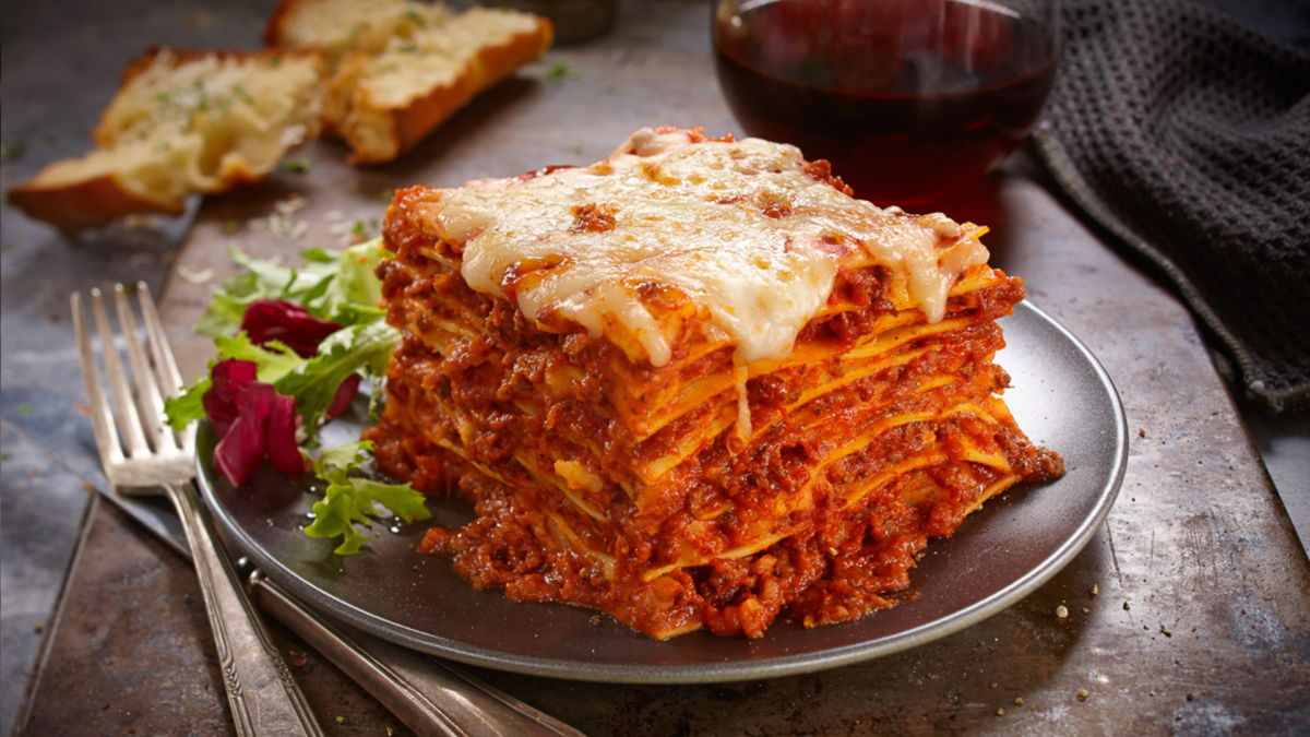 Traditional Lasagna Bolognese